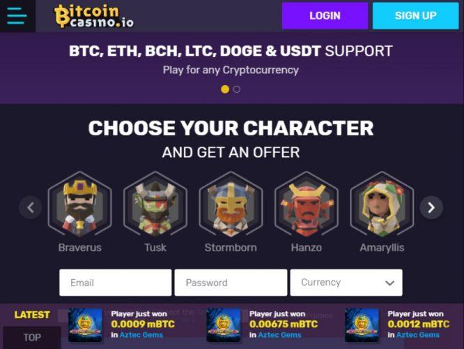 Klassische bitcoin-casino-Promotionen
